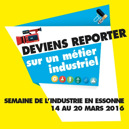 Concours reporter industrie 2015-2016 : Le teaser !